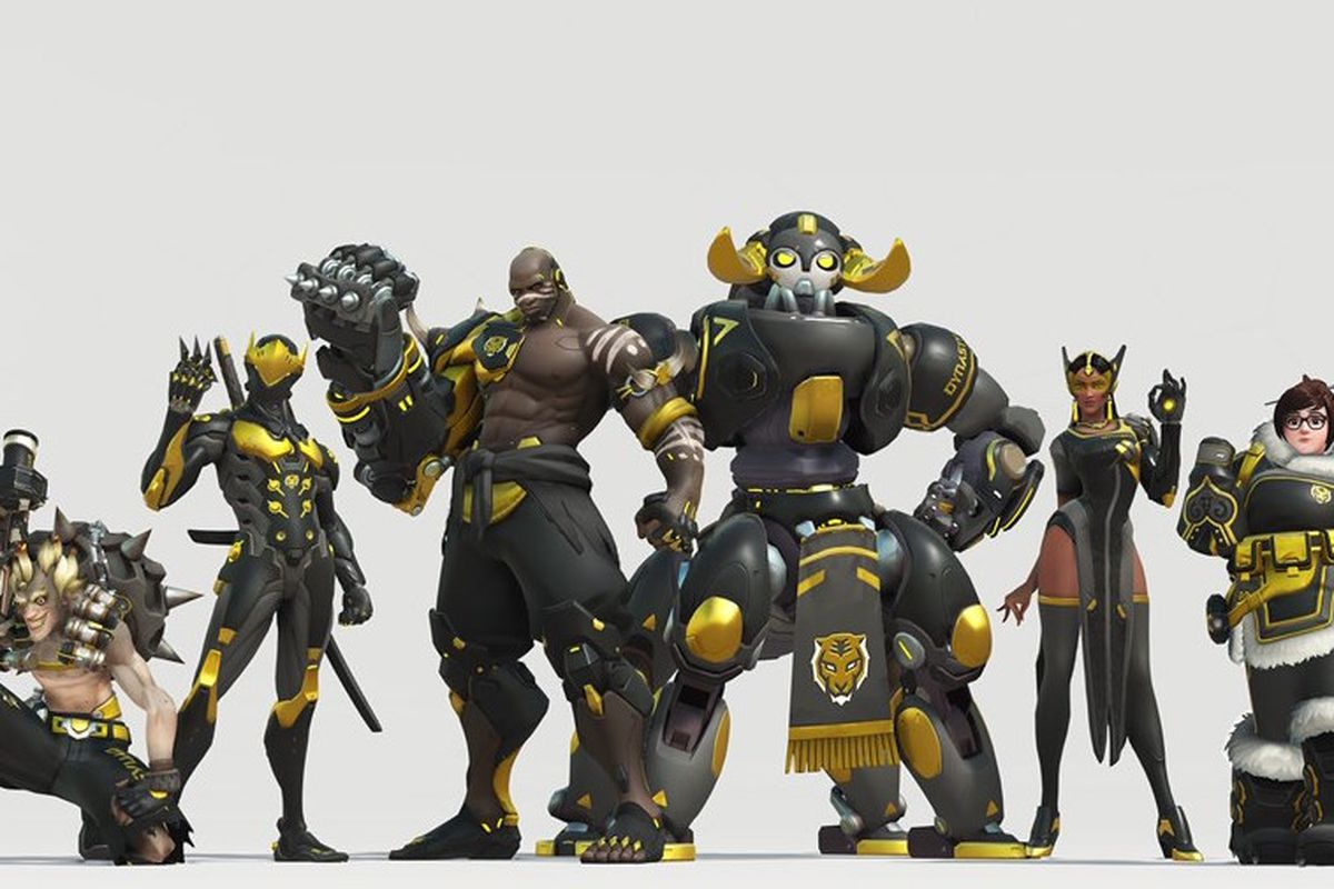 You'll be able to buy Overwatch League skins next year