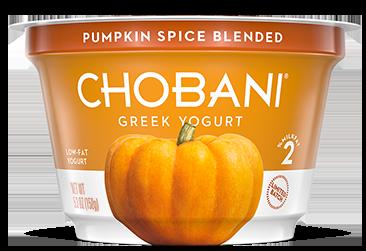 Chobani Pumpkin Spice Greek Yogurt