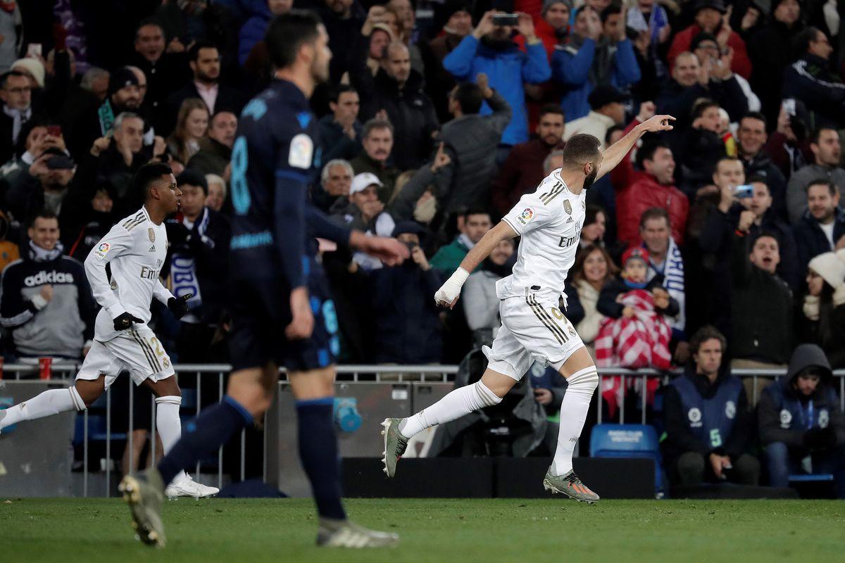 Real Madrid CF vs Real Sociedad : La Liga