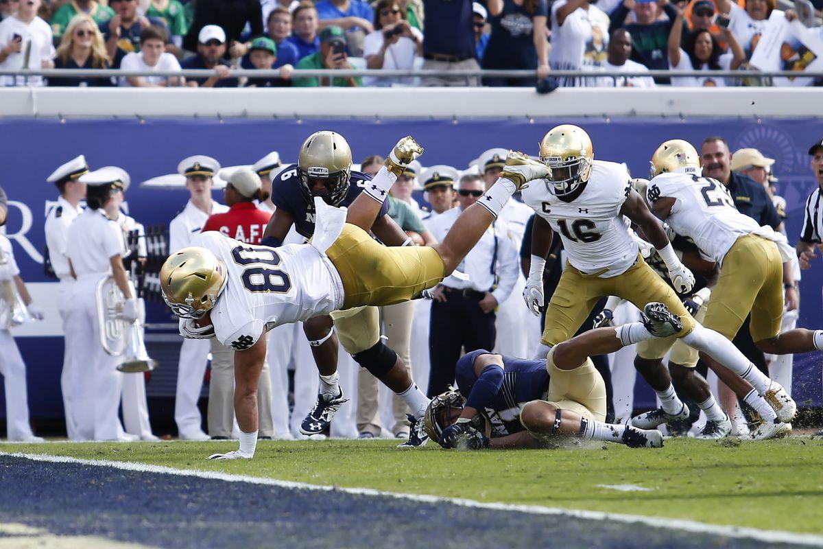 NCAA Football: Notre Dame vs Navy