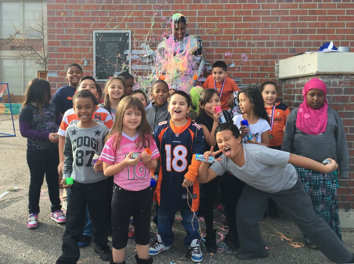 Greenlee students who met their reading goals got a unique reward.