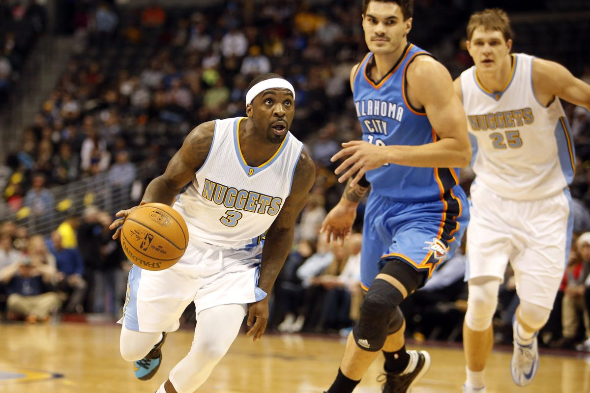 Ty Lawson (L) and Timofey Mozgov (R) are the captains of an improving ship.