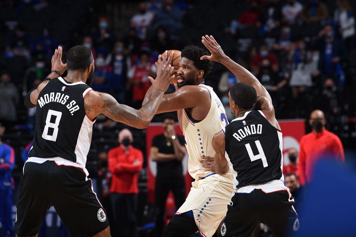 LA Clippers v Philadelphia 76ers