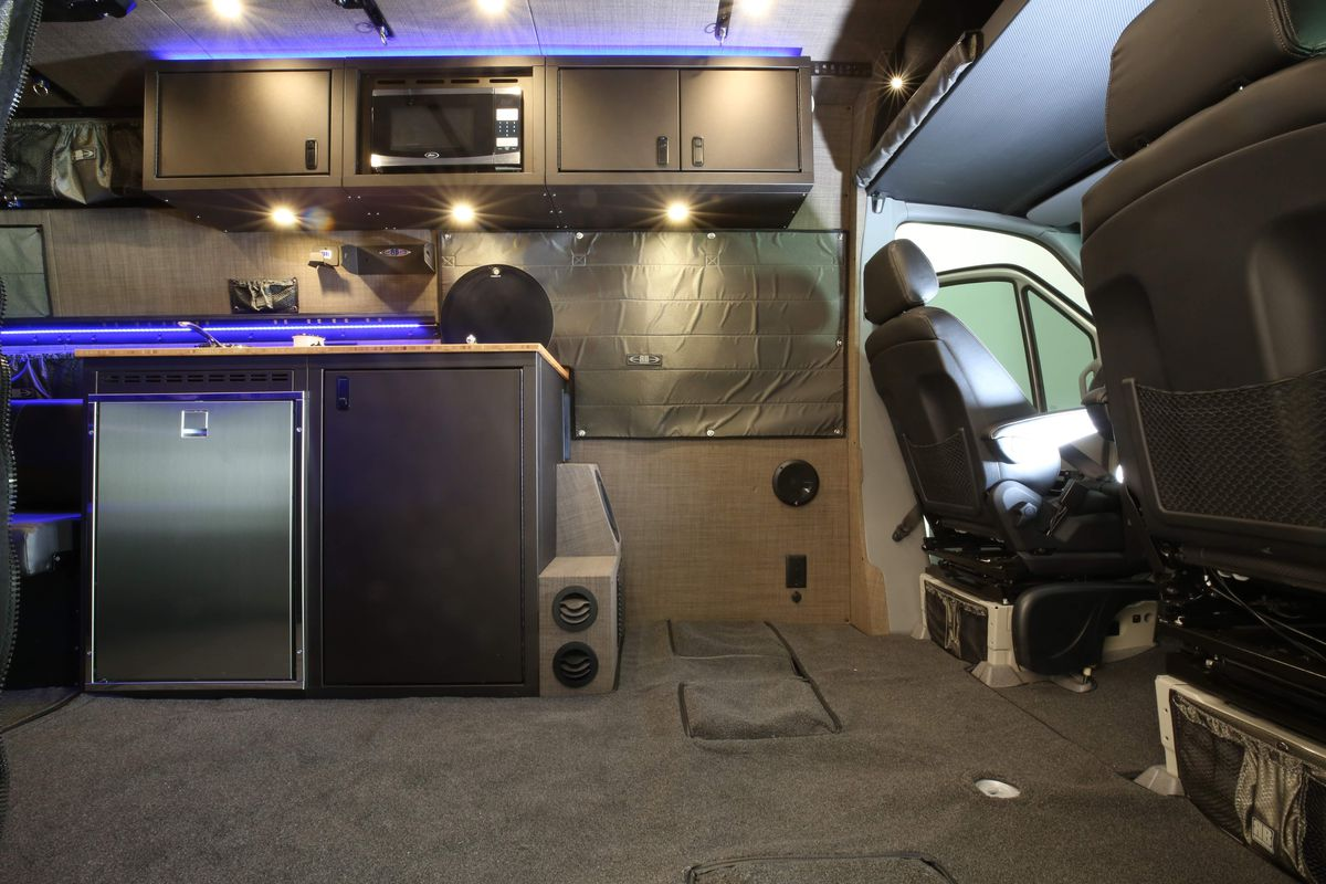 Outstanding Camper Van Sleeps Four And Hides A Clever Bathroom Curbed Creativecarmelina Interior Chair Design Creativecarmelinacom