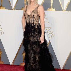 Best Actress nominee Jennifer Lawrence wears Dior (because of course). Photo: Jeff Kravitz/Getty Images