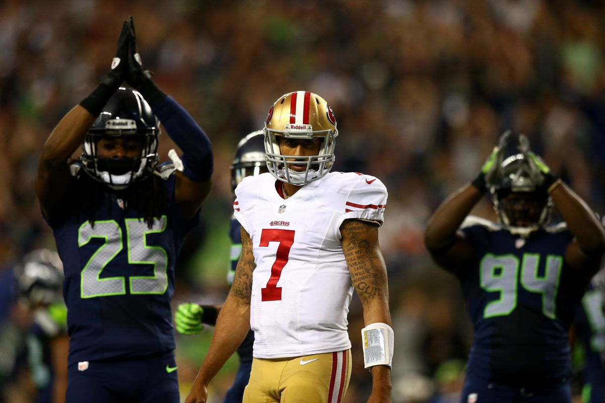 Richard Sherman says Colin Kaepernick s situation is about stay