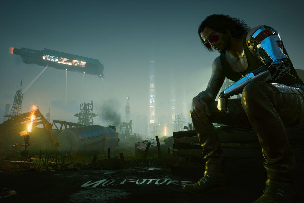 Keanu Reeves as Johnny Silverhand in Cyberpunk 2077