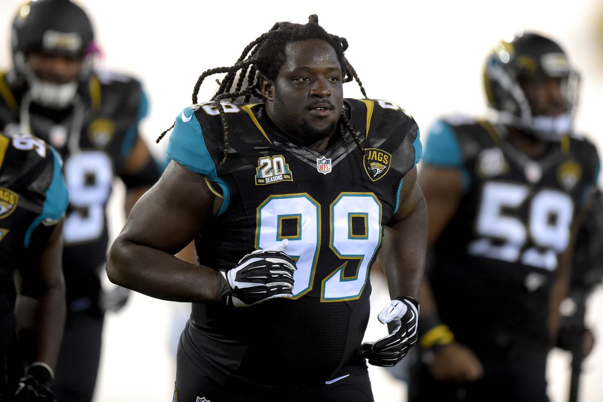 Sen'Derrick Marks of the Jacksonville Jaguars
