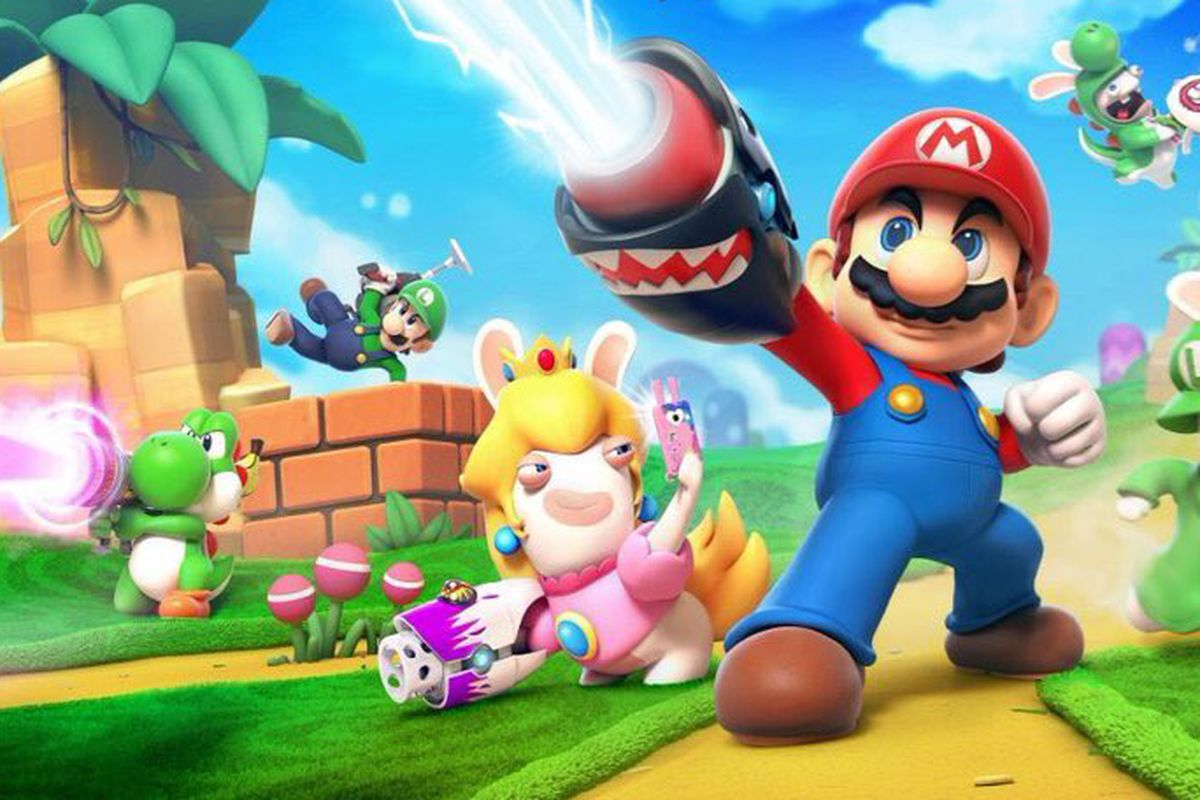 Super Mario and Ubisoft's Rabbids join forces in Switch RPG
