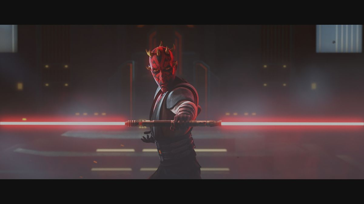 Star Wars The Clone Wars Photos Show Ahsoka Tano Darth Maul Lightsaber Duel Deseret News