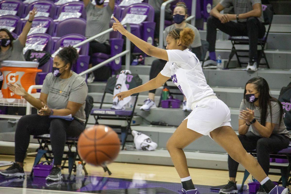 TCU Women's Basketball vs Kansas   Fort Worth, TX (1.17.21)