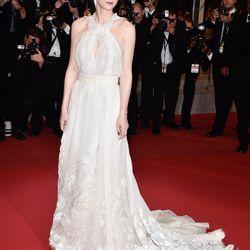 Rooney Mara in  Olivier Theyskens for Rochas