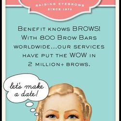 <b>Benefit Boutique Gift Card, pick your price.</b> Benefit Cosmetics Boutiques have been prettifying San Franciscans since 1976, so head to one of the three local boutiques and treat your favorite glamourpuss to a brow wax, a lash tint or an airbrush spr