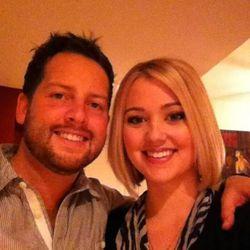 Tyler Barnett and Jenna Watson.