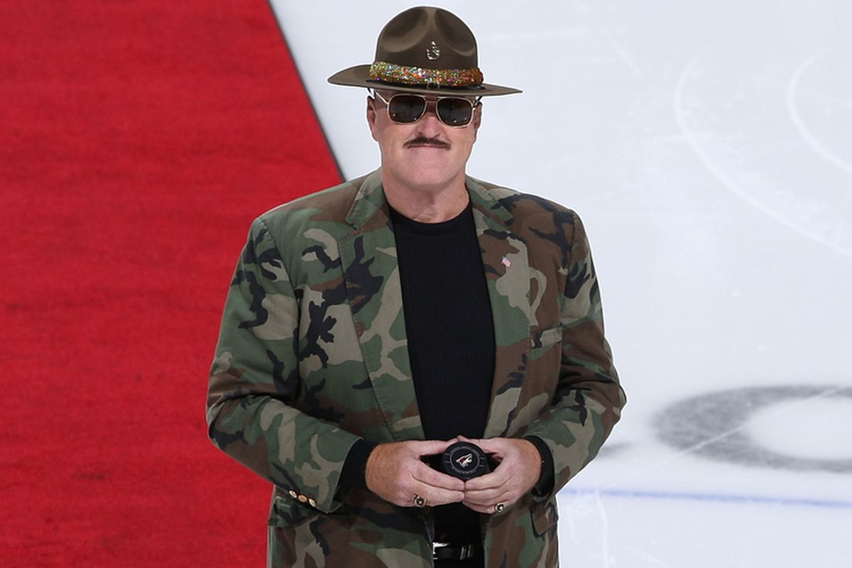 Sgt. Slaughter is ready... are you?