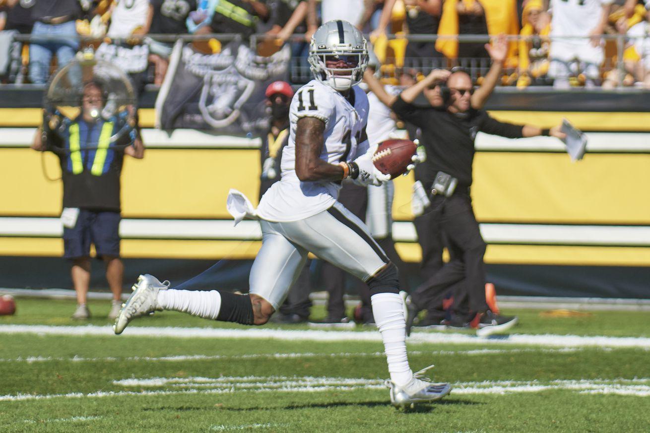 NFL: SEP 19 Raiders at Steelers