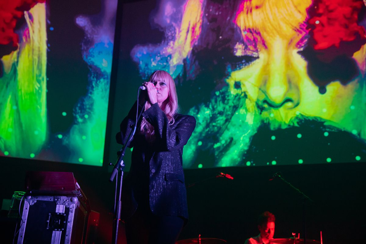 Chromatics Perform At The Roundhouse, London