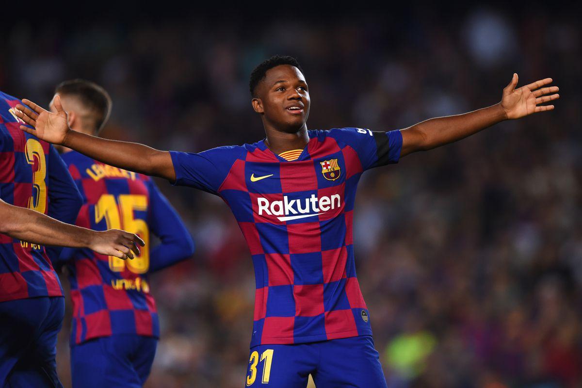 Ansu Fati makes La Liga history with goal and assist against Valencia