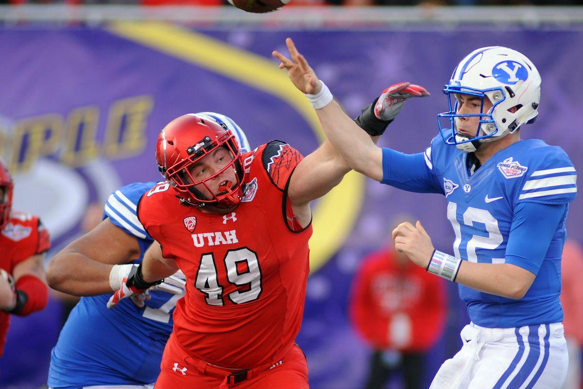 NCAA Football: Las Vegas Bowl-Brigham Young vs Utah