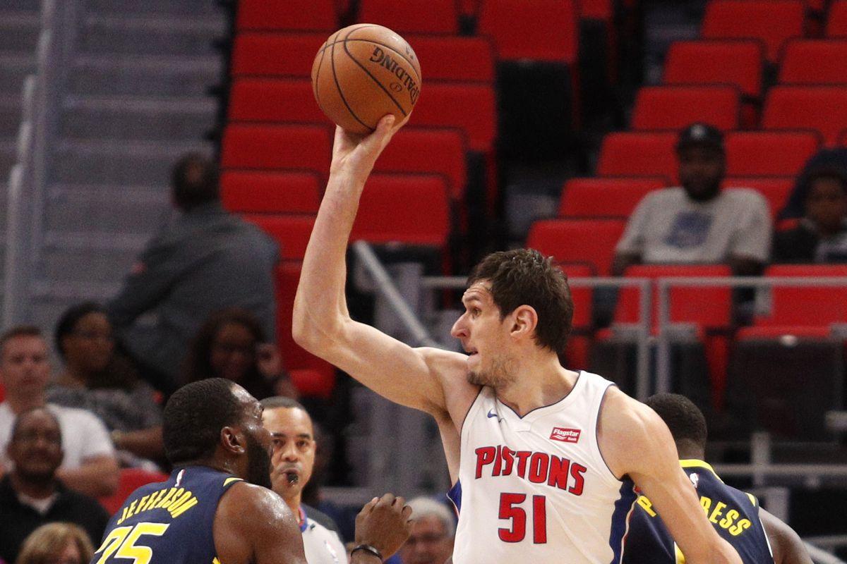 NBA: Preseason-Indiana Pacers at Detroit Pistons