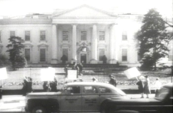 world war II protest