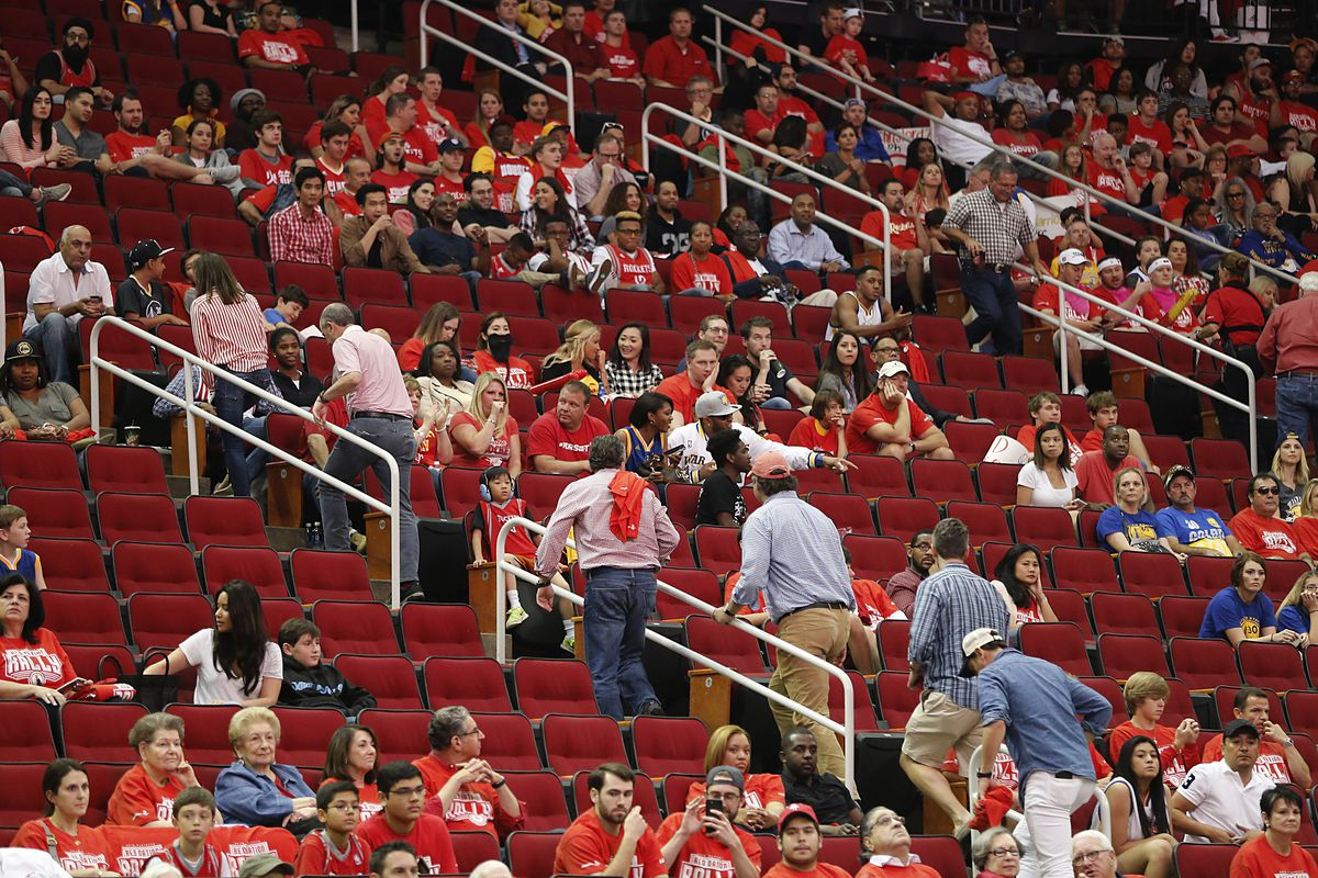 The Rockets are offering $1 beers for fans that arrive ...