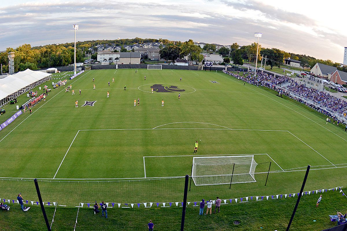 K-State soccer field during game 2016