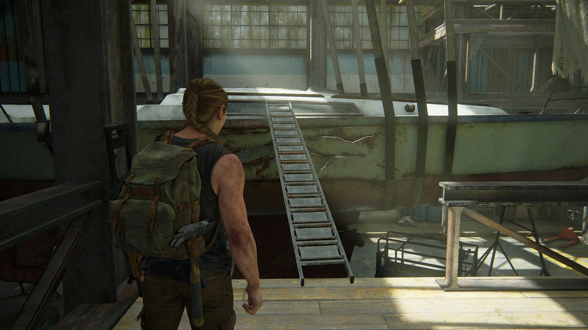 The Last of Us Part 2 Covert Ops Training Manual location