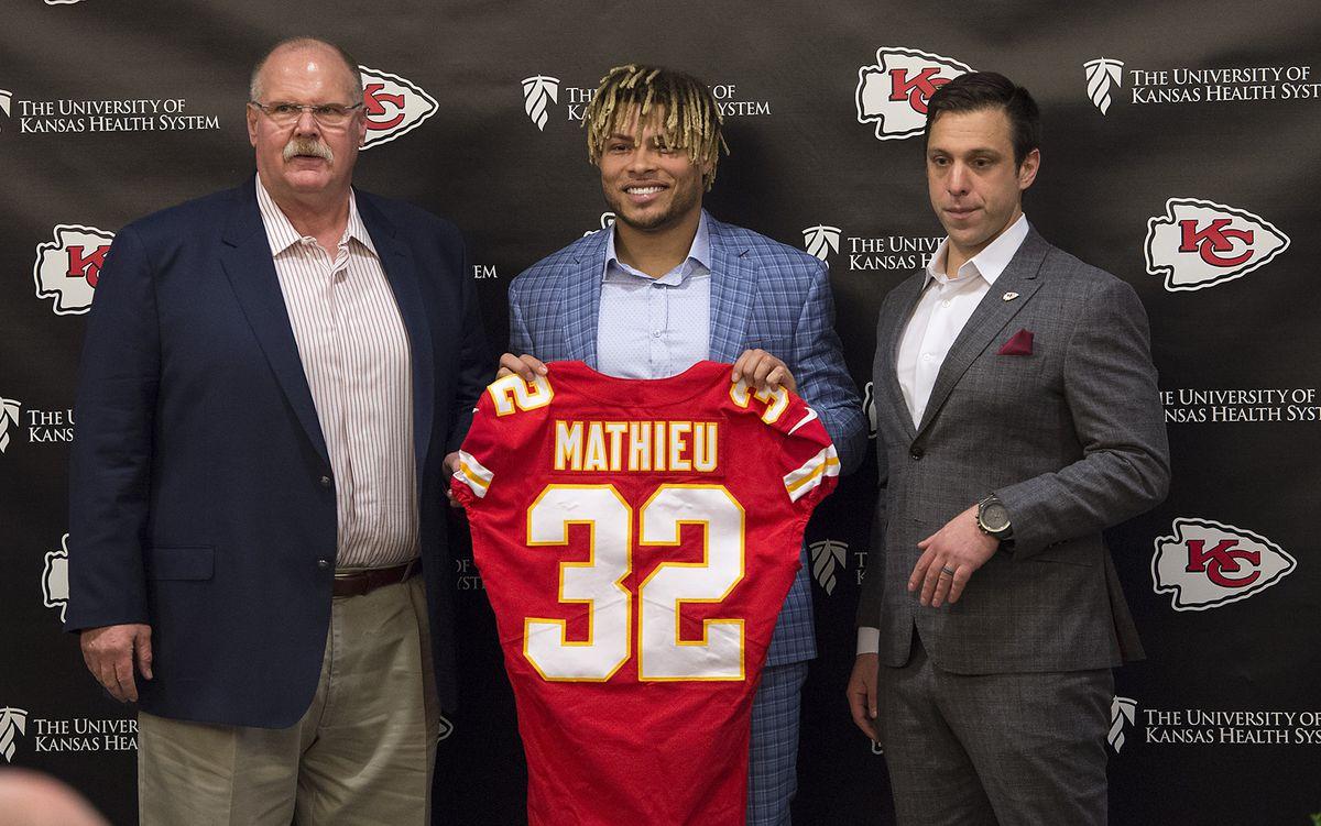 Chiefs introduce safety Tyrann Mathieu