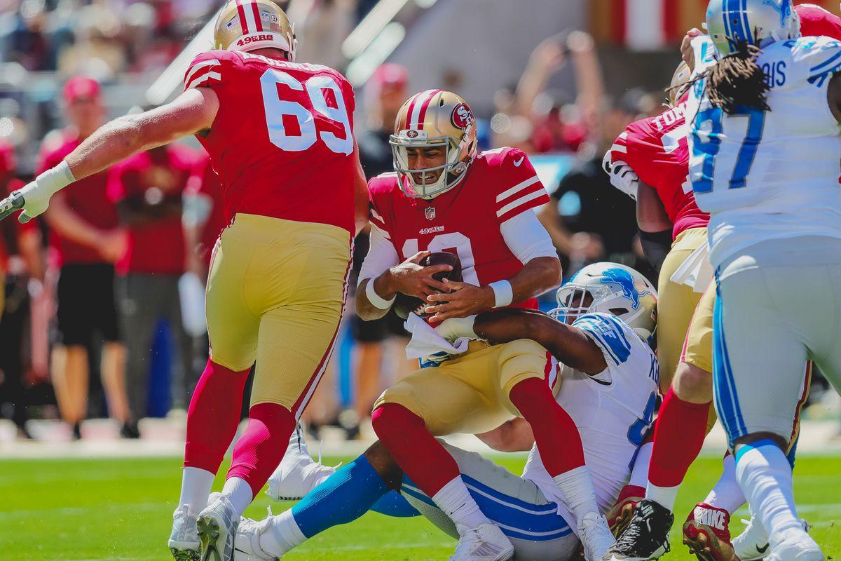 49ers-Lions film breakdown  Looking at San Francisco s 6 allowed ... efff4500d