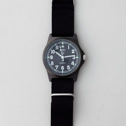 """<strong>Military Watch Company</strong> G10A Stealth Watch In Black, <a href=""""http://www.stevenalan.com/on/demandware.store/Sites-stevenalan-Site/default/Product-Show?pid=VEN_ALL_NA_VA-G10A%2f1224%2fGB&dwvar_VEN__ALL__NA__VA-G10A%2f1224%2fGB_color=BLACK#c"""