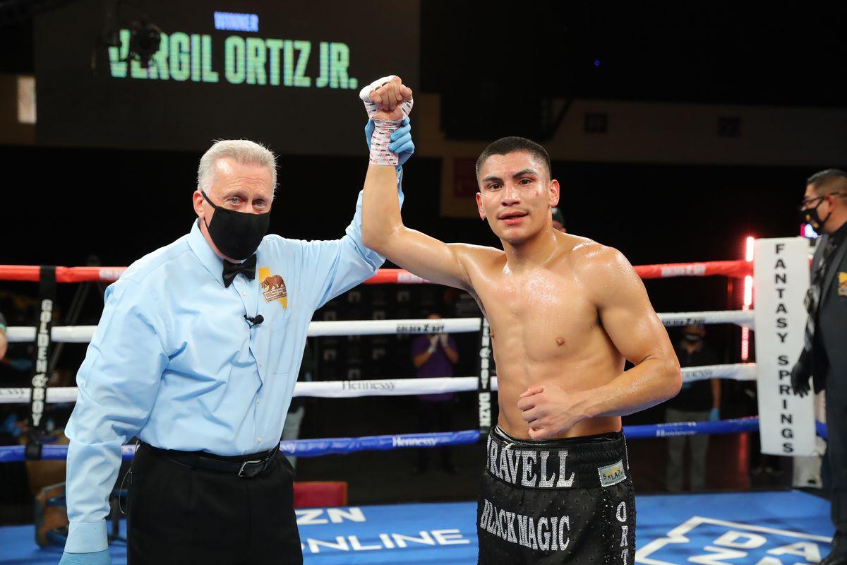 Vergil Ortiz Jr v Samuel Vargas