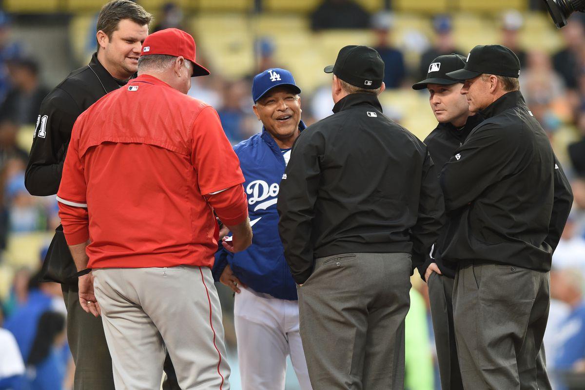 MLB: MAY 16 Angels at Dodgers