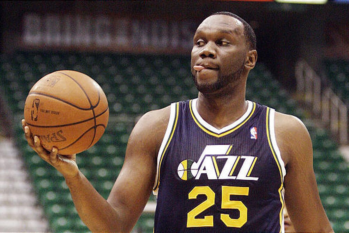 New Utah Jazz center Al Jefferson recently found out he still has 25-30 offensive plays to learn.