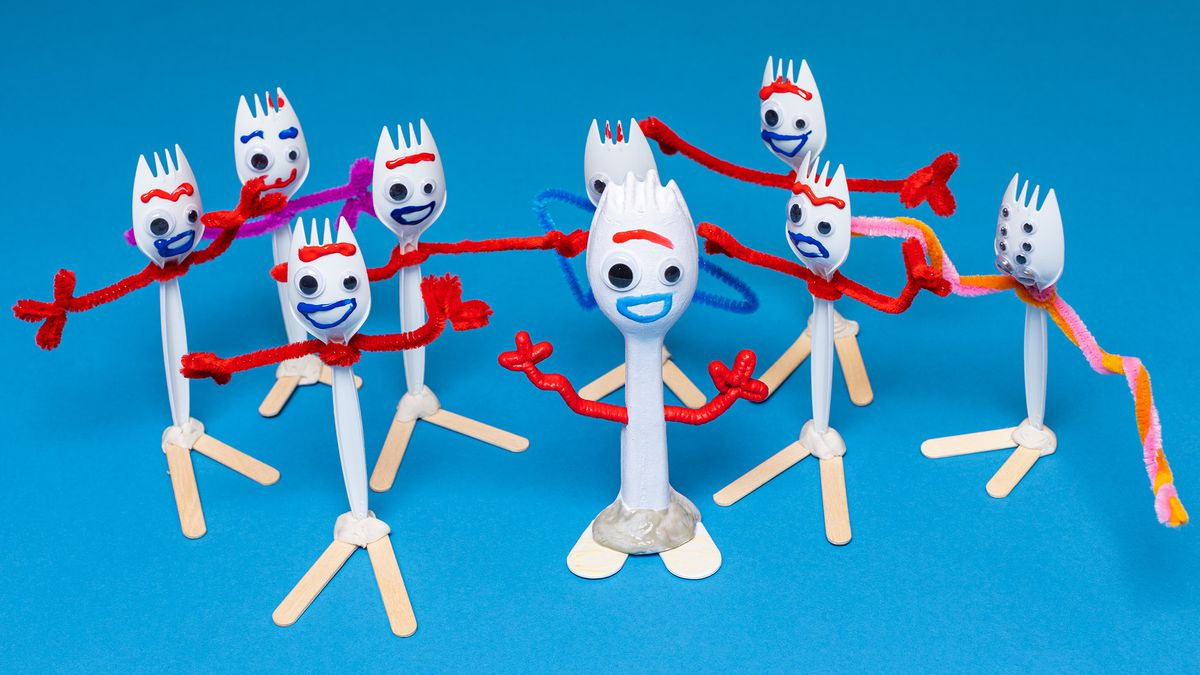 How A Diy Forky Toy Holds Up Against Disney S Official
