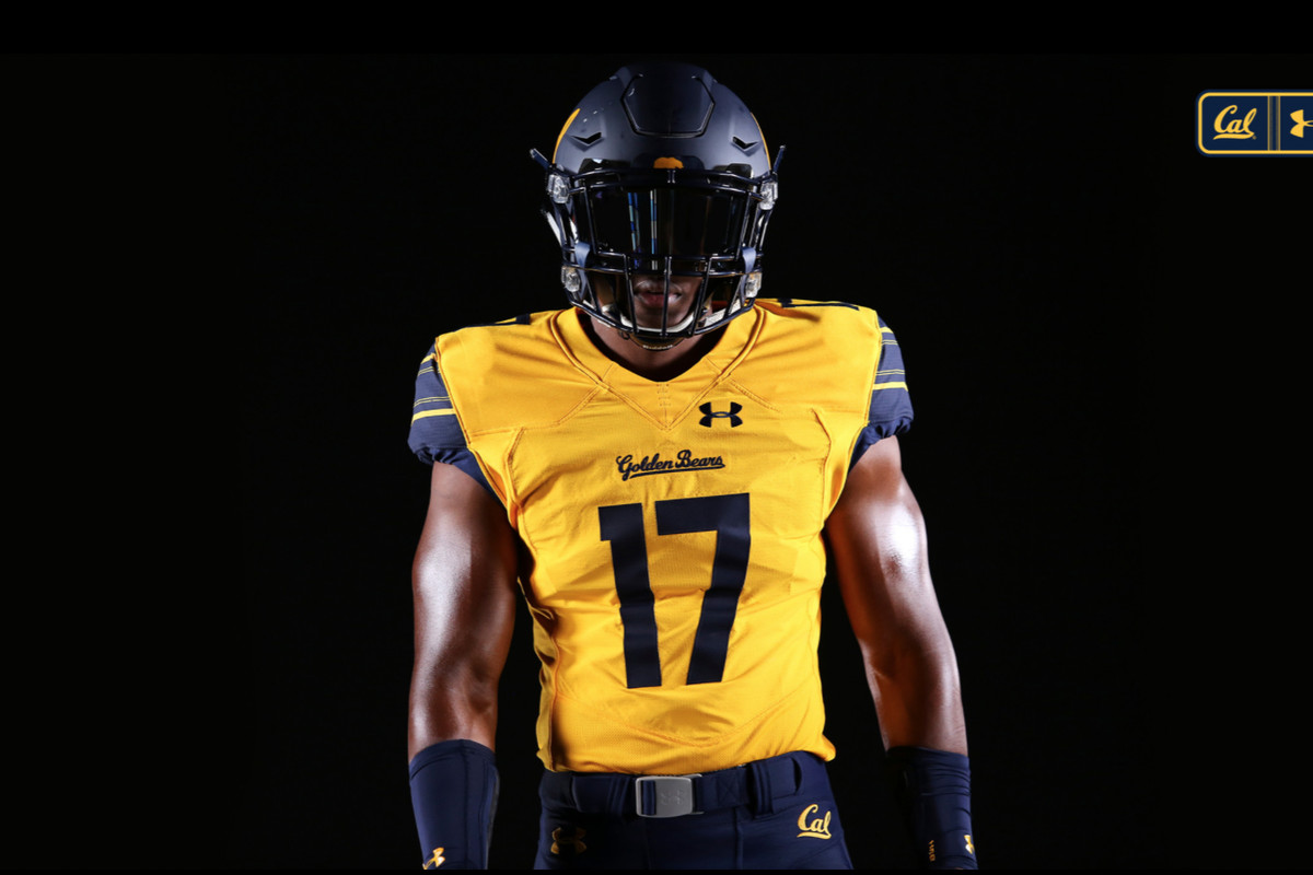 best website 614d2 afa74 UA unveils another Cal Football Uniform - California Golden ...