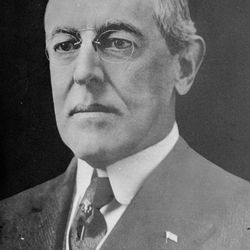 President Woodrow Wilson, the 28th U.S. President, is shown in an undated photo.