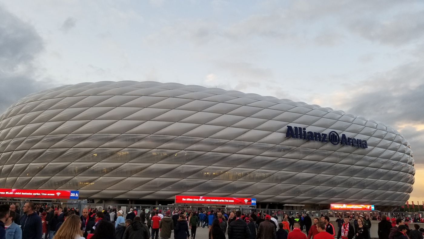 Impressions From A Champions League Night At The Allianz
