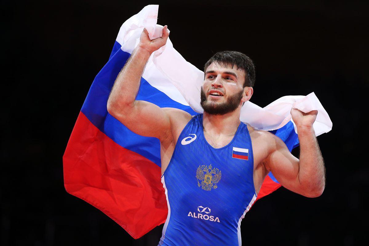 2018 European Wrestling Championships in Dagestan, Russia