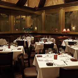 A view of the dining room at Red Square.