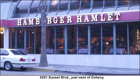 Hamburger Hamlet Sunset