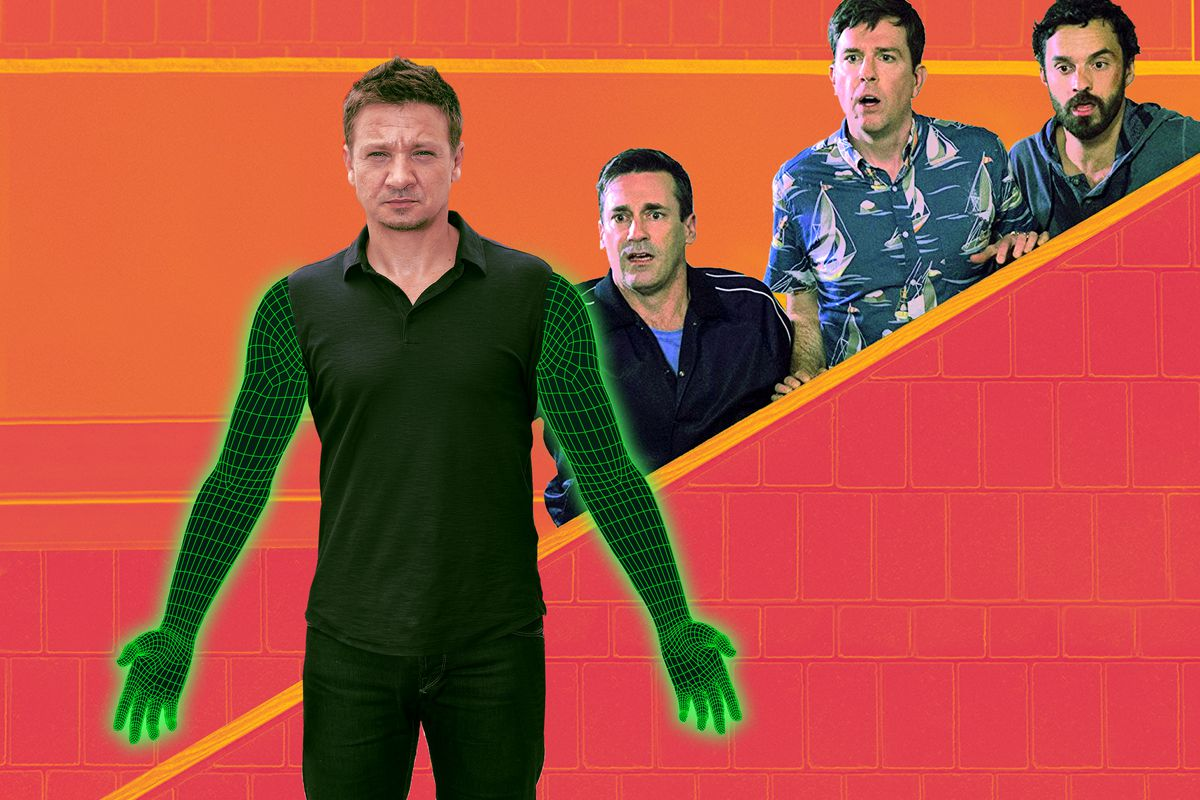An Extremely Close Examination of Jeremy Renner's CGI Arms