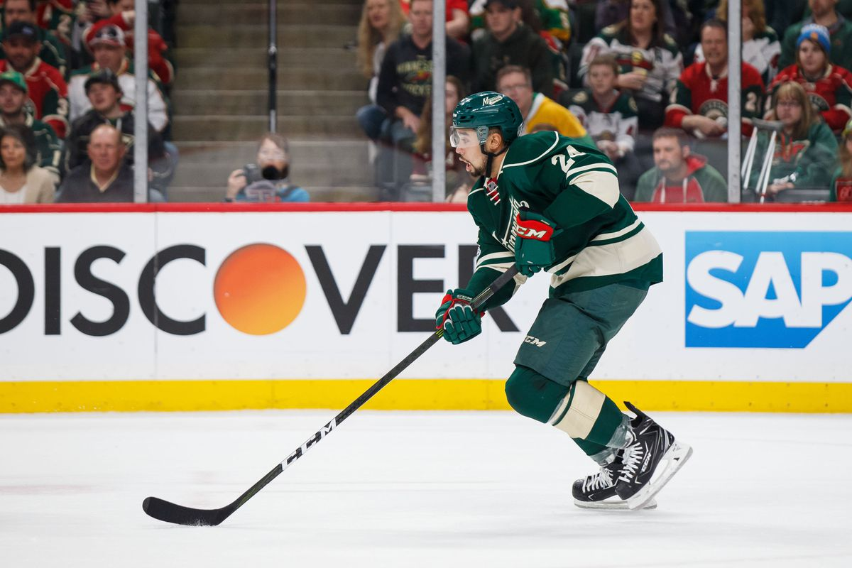 NHL: Stanley Cup Playoffs-St. Louis Blues at Minnesota Wild