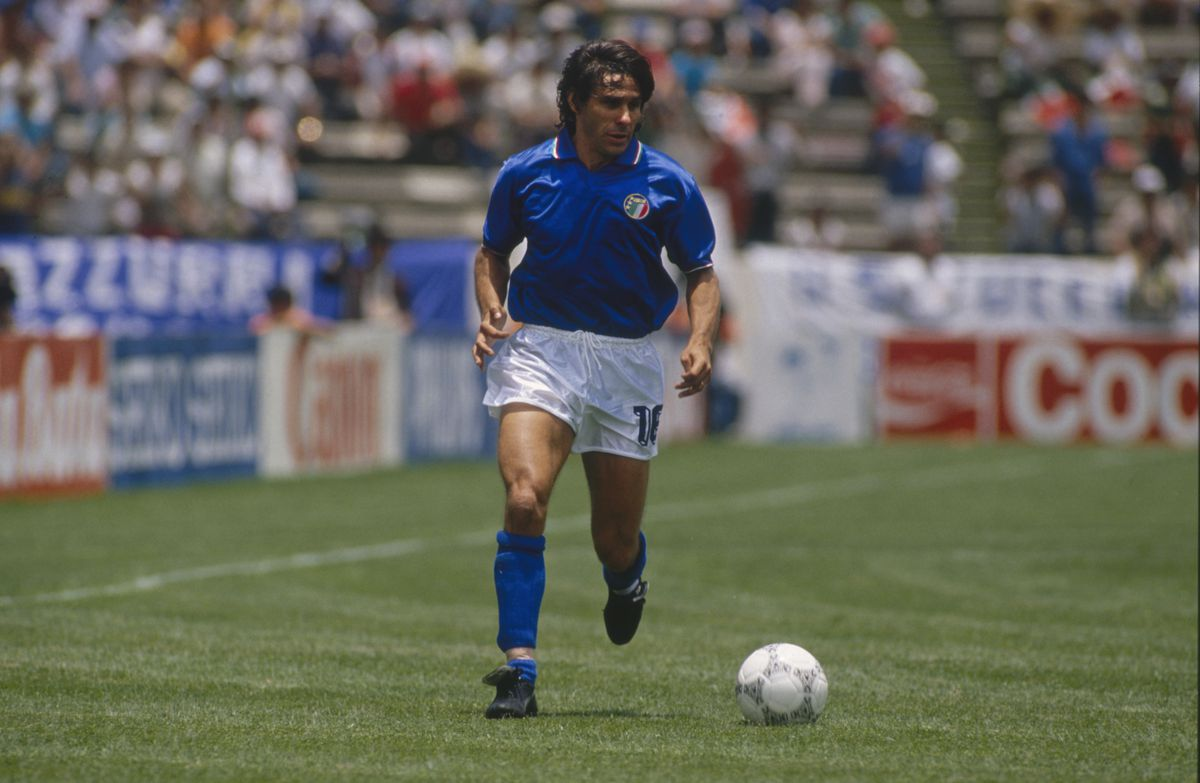 FIFA World Cup 1986 Group A Match: Argentina v Italy