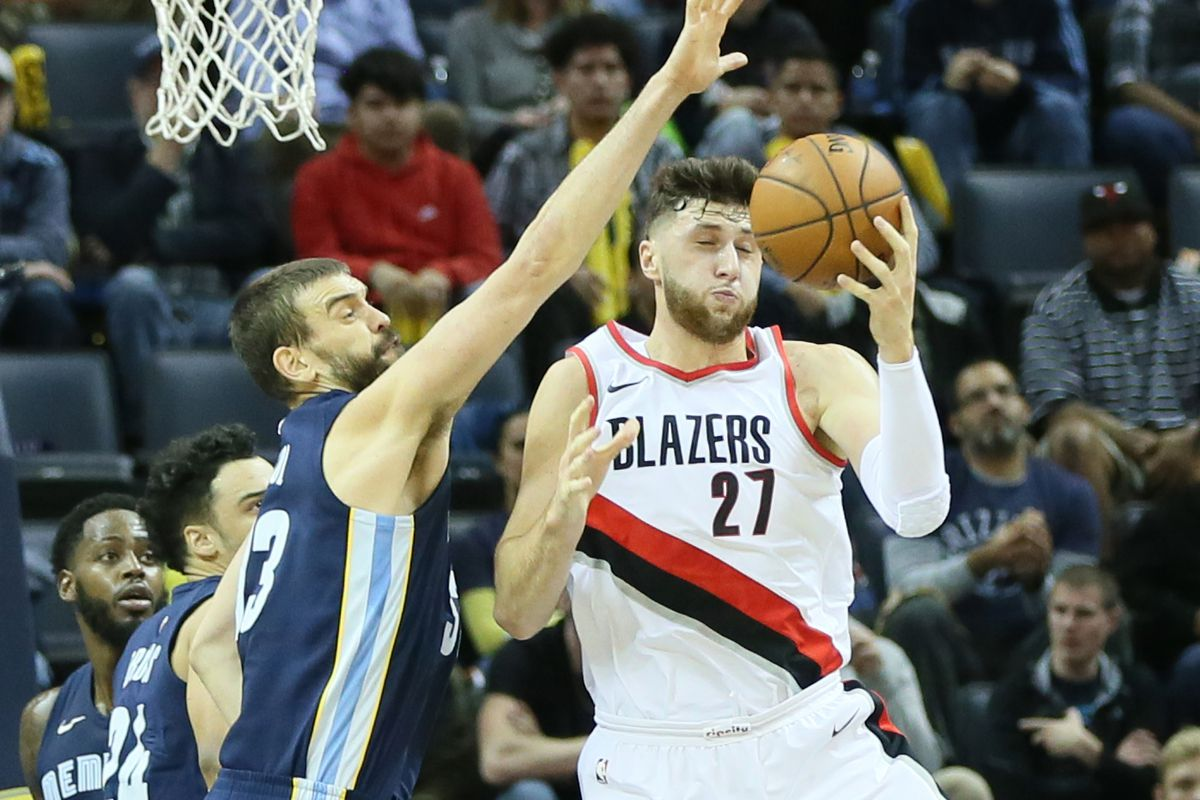 070dbbbefcb Jusuf Nurkic and the Portland Trail Blazers  A Match Made Out of Necessity