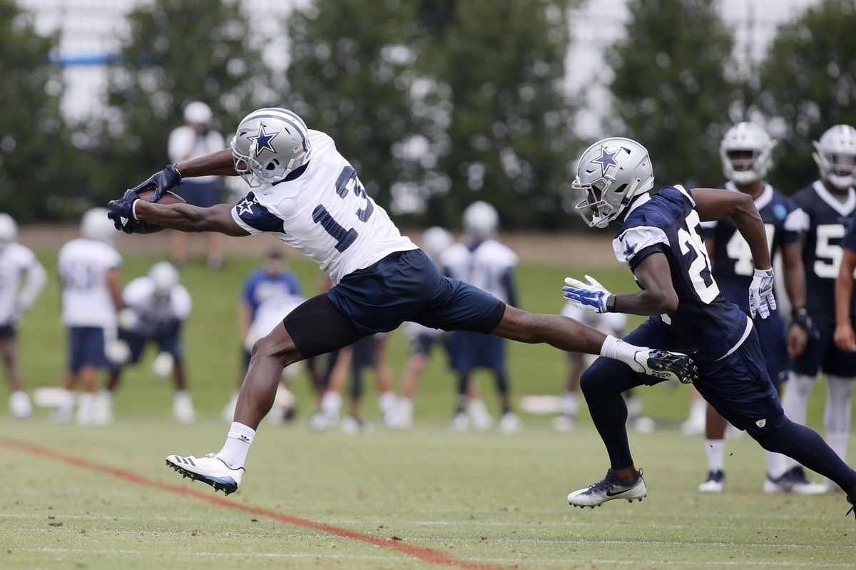 9788ccdfb Cowboys positional battles  Which wide receivers emerge at training camp