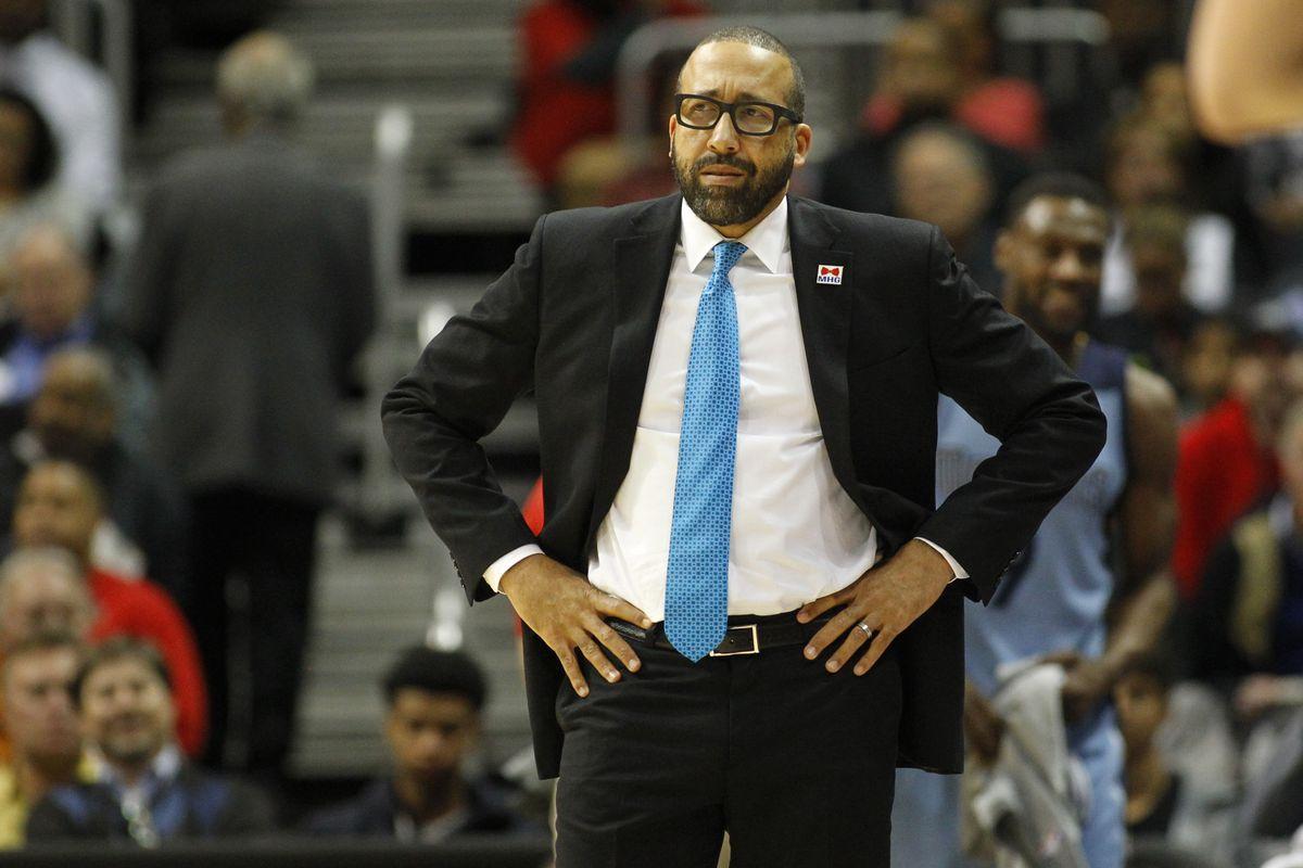 Memphis Grizzlies coach David Fizdale
