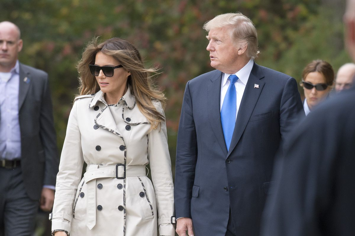 "a55e5e03b4e2 The ""Fake Melania"" conspiracy theory"