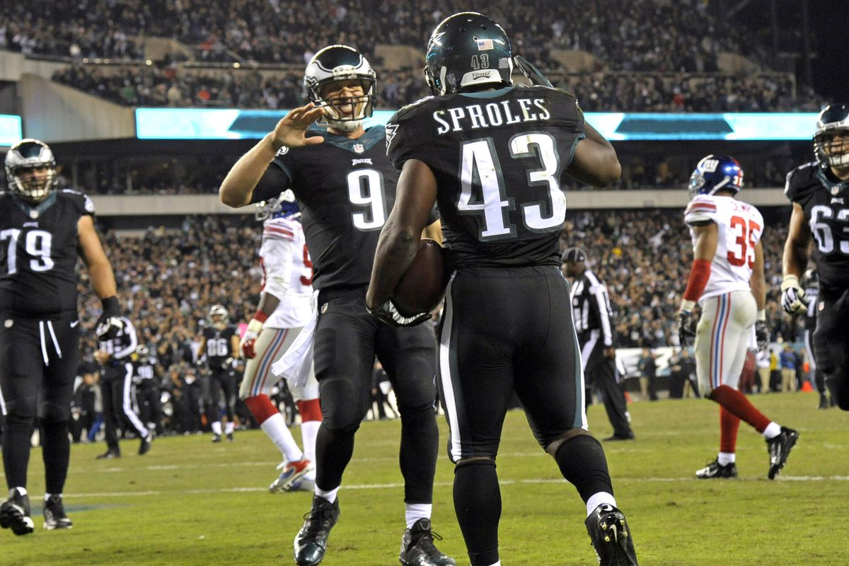 Darren Sproles Injury  Nick Foles stands up for his Eagles teammate (VIDEO) b173c29d3