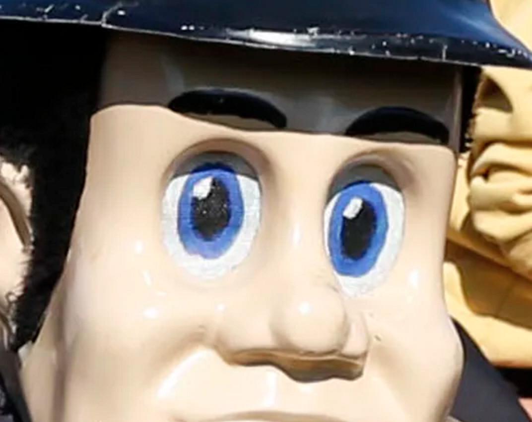 Purdue Pete's Eyes